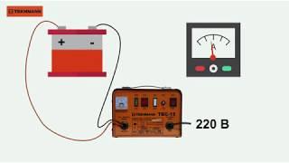 видео Трансформаторные зарядные для  тяговых батарей
