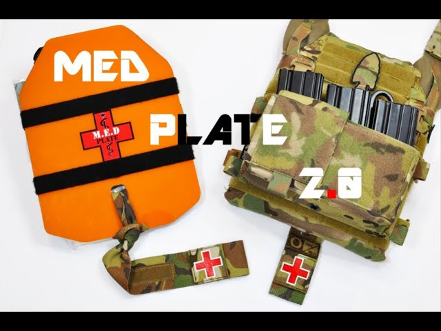 MED Plate 2.0 (Plate Carrier - Individual First Aid Kit - IFAK)