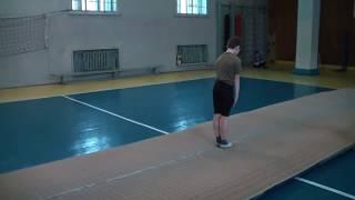 Акробатика в Бердянске - тренировка