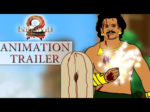 Baahubali 2 - The Conclusion Animation Trailer