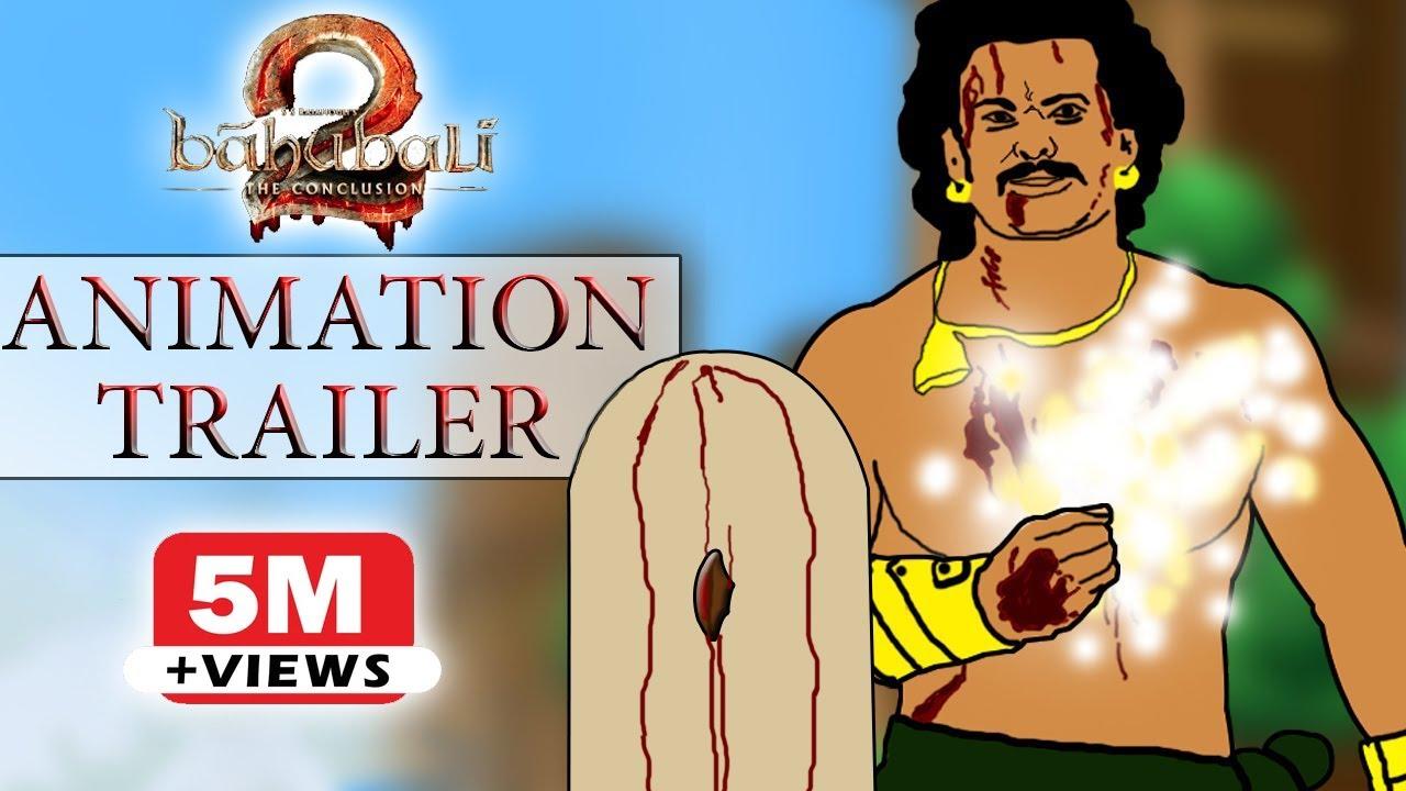 Baahubali 2 - The Conclusion Animation Trailer