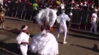 Imágenes del desfile de las Fiestas de Independencia en Cartagena