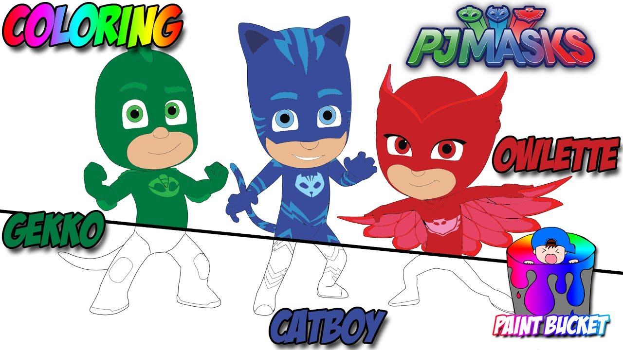 PJ Masks New Coloring Page