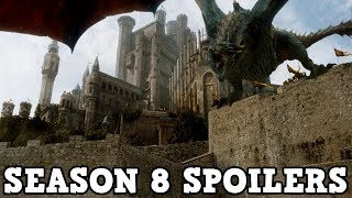 Game of Thrones Season 8 - Massive Changes At The King's Landing Set (SPOILERS)