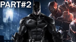 Batman Arkham Origins Gameplay Walkthrough - Part 2 - Enigma (Let