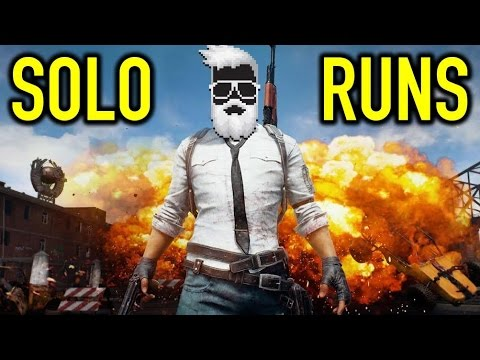 PLAYERUNKNOWN's - BATTLEGROUNDS | EARLY ACCESS | SOLO RUNS