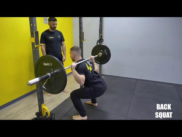 Back Squat. Esecuzione e tecnica