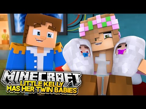 LITTLE KELLY GIVES BIRTH TO THE TWINS! Minecraft Future Life | w/LittleDonny