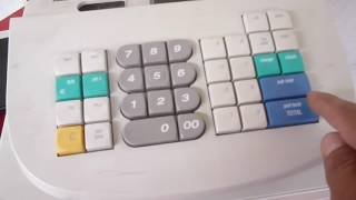 Royal dx 110 cash register electronic