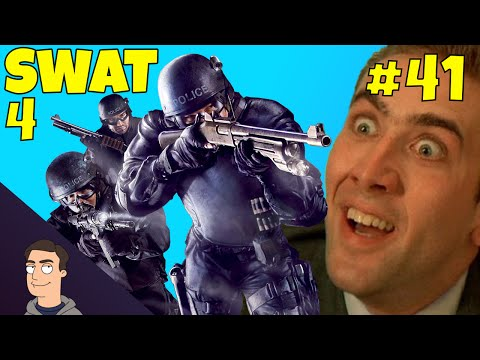 Swat 4: Crazy Office Invasion & Bloopers - Novatech Building - Ep.41 (Let's Play)