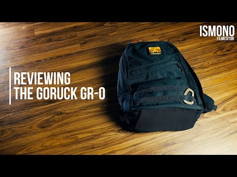 TECH TALK: Does Goruck live up to the hype? Reviewing the GR-0.