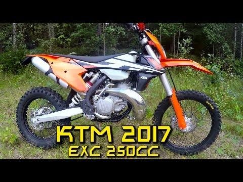 KTM EXC 250 2017 Test ride!