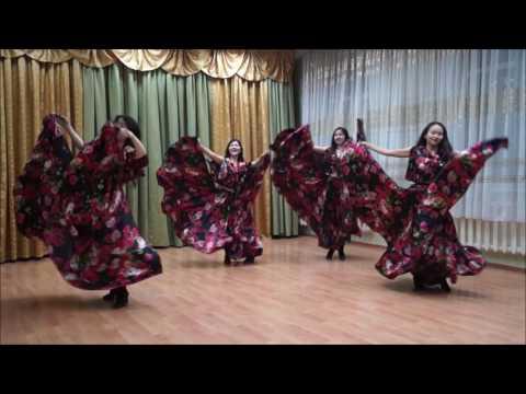 Танцевальная  группа 'Аялы кыздар' - Праздничная плясовая