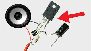 ... today i will show you how to make a very simple powerful audio amplifier diy easy ampli...