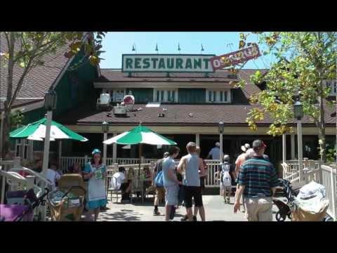 Restaurantosaurus in Disney's Animal Kingdom (HD 1080p)