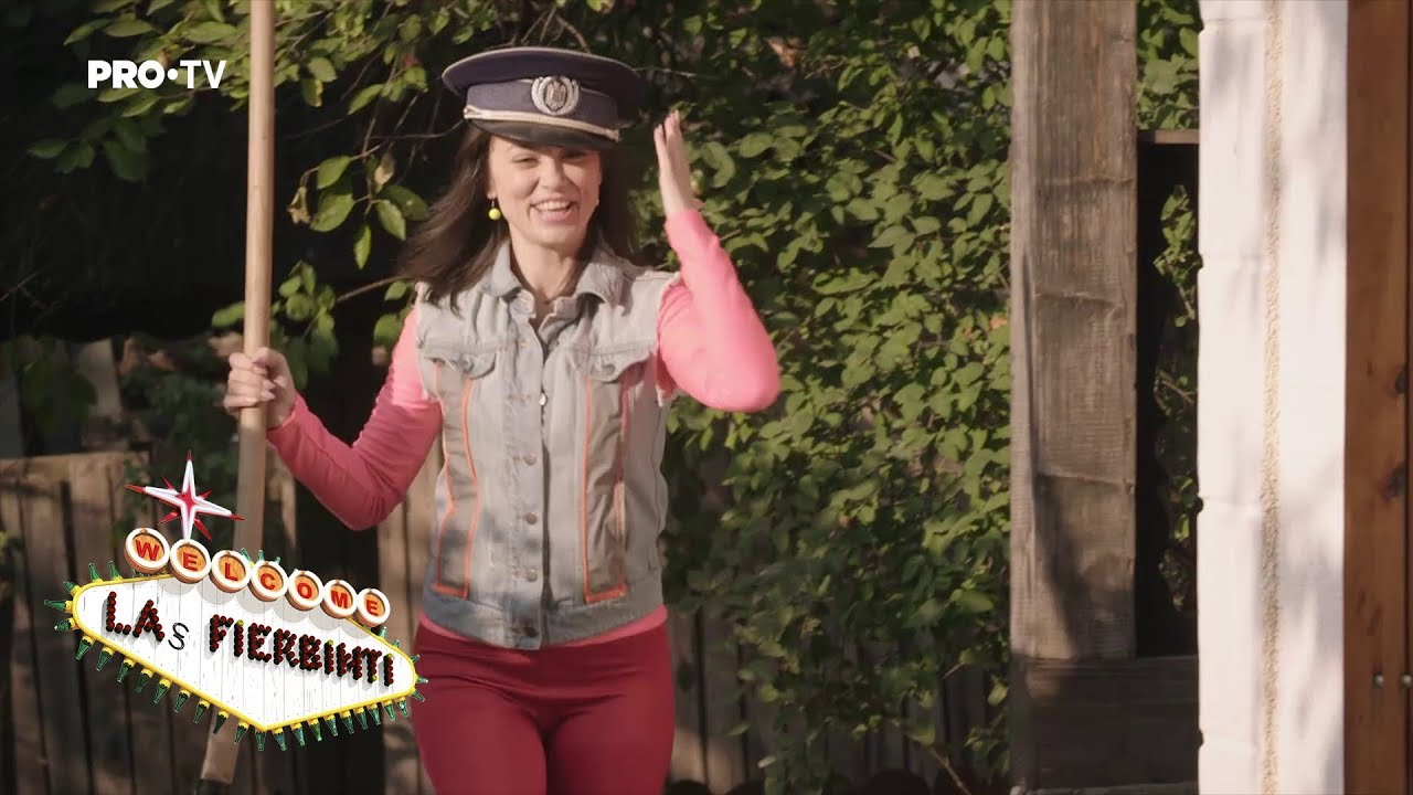 Las Fierbinti - SEZ. 15, EP. 2 - Gianina vrea să fie polițistă