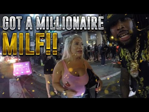 King of DOWNTOWN: LEFT WITH A MILLIONAIRE MILF!!!