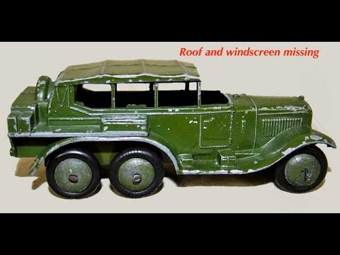 DINKY TOYS : Major Restoration (cc)