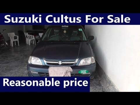 Suzuki Cultus Model 2001 Detailed Review Price, Specs & Features| Technical Awareness
