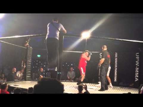 UFW MMA Tom Metcalf vs Ben Goodwin 27/09/2014