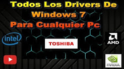 Todos Los drivers para windows 7 32 bits