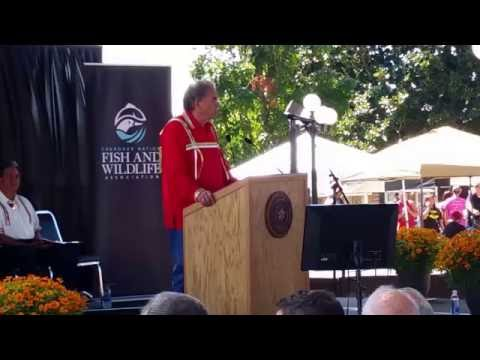 Cherokee Holiday Dept. Chief Crittenden Speech - September 3, 2016 - Travels with Phil