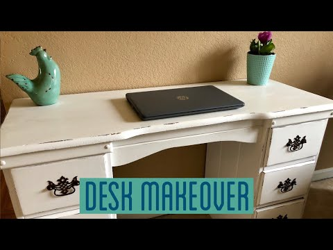 How To Refinish A Desk DIY
