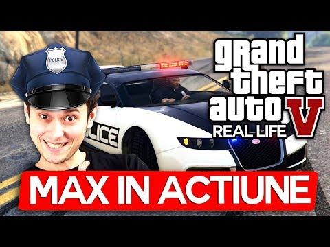 Max in Actiune cu Pisica pe GTA Real Life !
