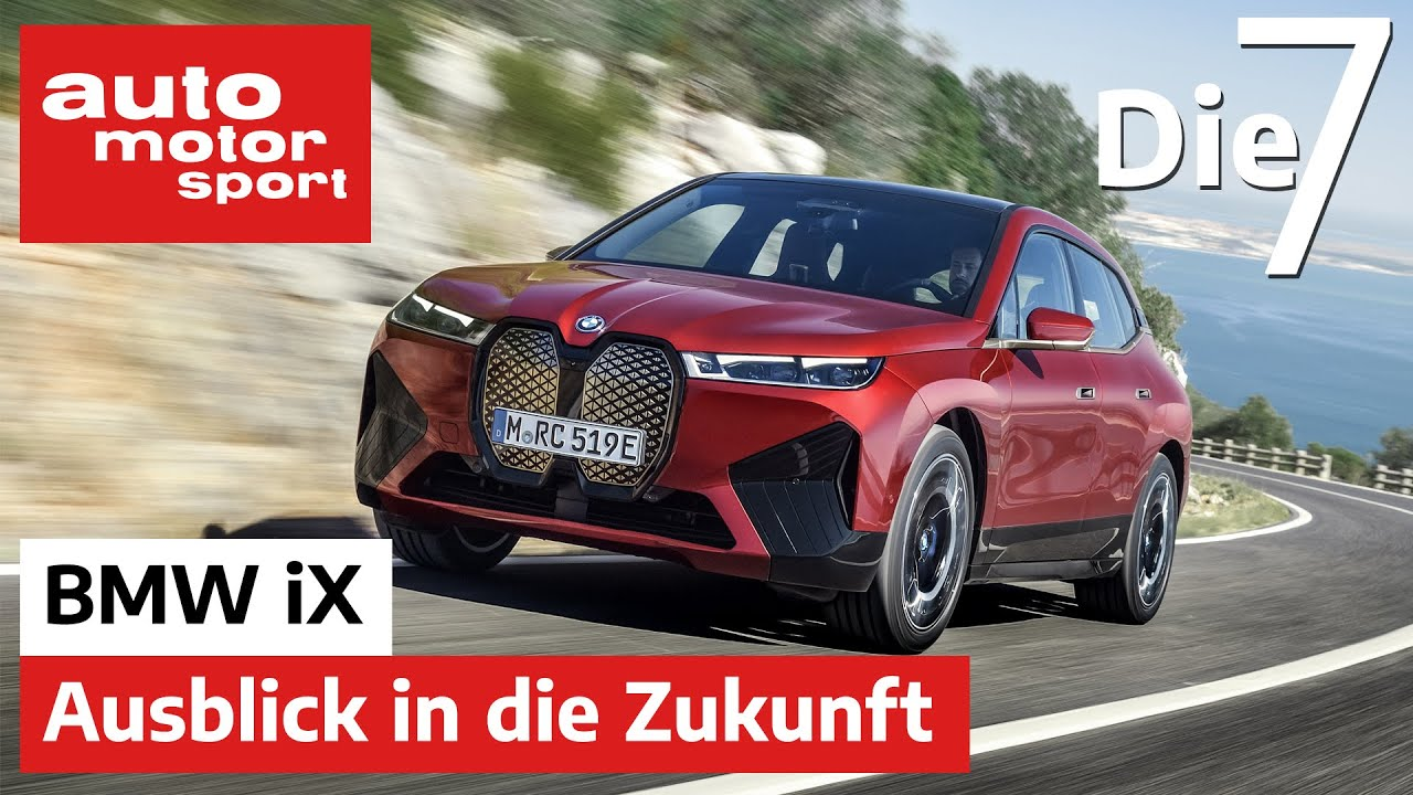 BMW iX (2021): Groß, schwer, leistungsstark und dennoch effizient? | auto motor und sport