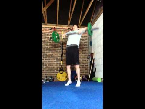 Olympic Lifting Variations for Golfers