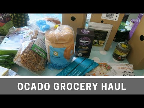 Ocado Grocery Haul   Vegan   Vegetarian