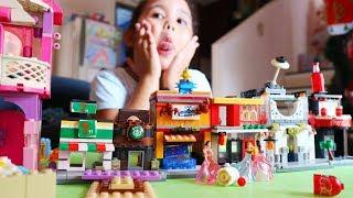 LEGO CITY With Princess Snow White, Aurora and Tiana