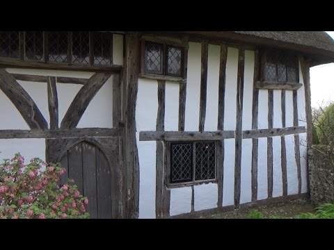 Built 1350 - A Look At Alfriston Clergy House, Sussex UK.