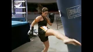 Gina Carano in I'd Do Anything show
