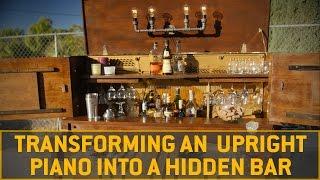 Turning An Old Piano Into A Bar Carhartt Diy Youtube