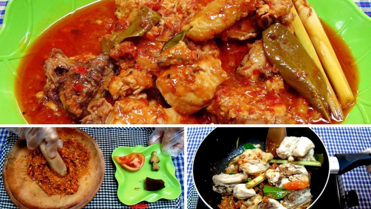 resep ayam masak merah melayu Resepi Ayam Masak Madu Enak dan Mudah