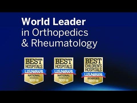 HSS Ranked No  1 in Orthopedics by U S  News & World Report