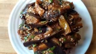 Салат по корейски с баклажанами на пару. (Острый)