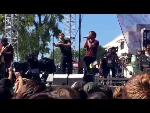 Dance Gavin Dance // Spooks live @Chain Fest 2016 in Santa Ana CA