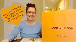 Handbag Reveal | Unboxing my Newly Repaired Louis Vuitton Boetie & Review of LV End of Year Party
