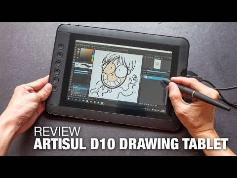 POSRUS Antiglare Touch Screen Protector for Artisul D10-10.1 LCD Pen Display Drawing Tablet