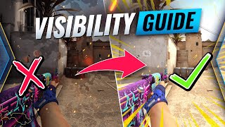 How To FIND Y๐ur PERFECT VIDEO SETTINGS - ULTIMATE Visibility Guide In CSGO