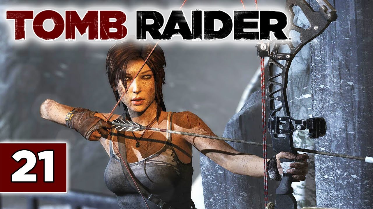 Tomb Raider 2013 Reboot Walkthrough Part 21 Compound Bow