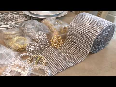 Spring Tablescape | Glam Decor | Totally Dazzled PLUS Giveaway (CLOSED)