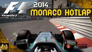 F1 2014 | Monaco Hot Lap - Mercedes Onboard (No Assists)