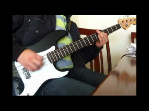 The Hives - Main Offender (Bass Cover)