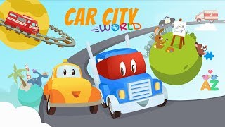 Play kids games and watch Car City episodes with Car City World!