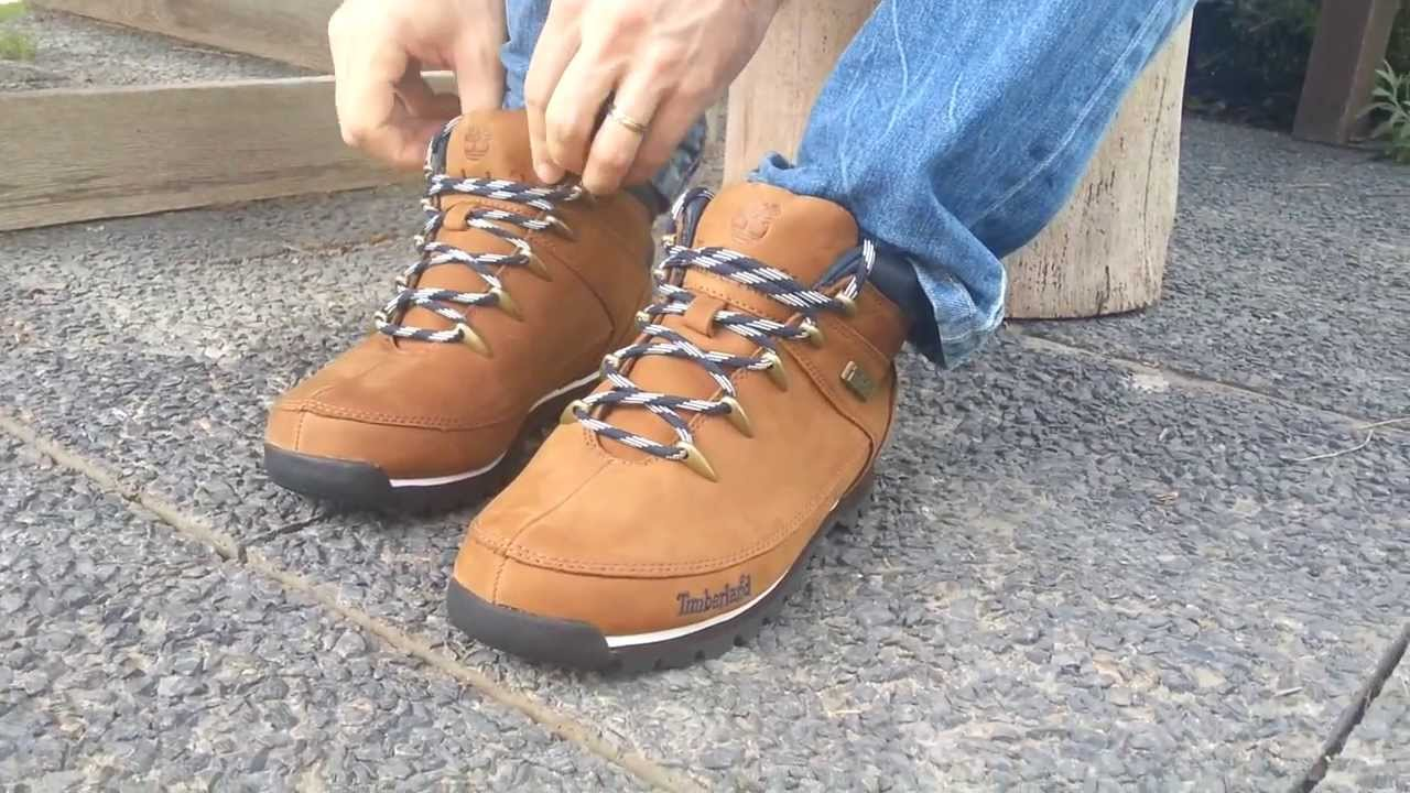 TIMBERLAND Newmarket 6612R Euro Sprint Hiker Brown - YouTube cec03e22066