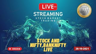 Live  Ntraday Trading On 28 Oct 2021 Nifty Trading Today Banknifty Live Trading Stock Trading