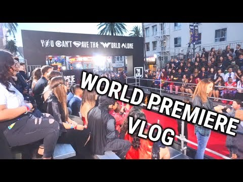 JUSTICE LEAGUE PREMIERE | Red Carpet and Advanced Screening!